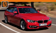Chiptuning BMW  3-series F30/F31 (2011 >)