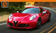 Chiptuning Alfa Romeo  4C