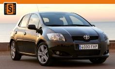 Chiptuning Toyota  Auris I (2006 - 2012)