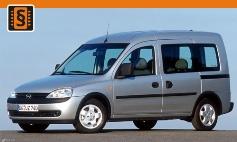 Chiptuning Opel  Combo B/C (1993 - 2011)