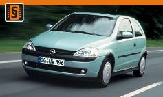 Chiptuning Opel  Corsa C (2000 - 2006)