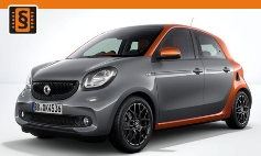 Chiptuning Smart  ForFour II (2014 >)