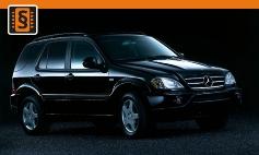 Chiptuning Mercedes-Benz  ML-Class (W163) (1997 - 2005)
