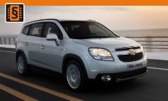 Chiptuning Chevrolet  Orlando