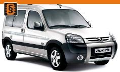 Chiptuning Peugeot  Partner I / Ranch (1996 - 2007)