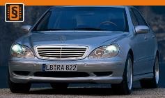 Chiptuning Mercedes-Benz  S-Class (W220) (1998 - 2006)