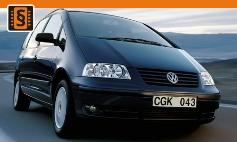 Chiptuning Volkswagen  Sharan I 7M (2005 - 2010)