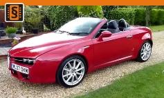Chiptuning Alfa Romeo  Spider