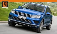 Chiptuning Volkswagen  Touareg II (7P) (2010 - 2018)