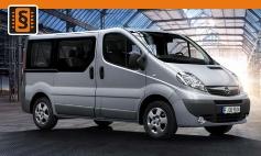 Chiptuning Opel  Vivaro A (2001 - 2014)