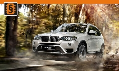 Chiptuning BMW  X3-series F25 (2010 - 2017)