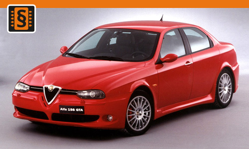 Chiptuning Alfa Romeo 156 1.6 JTD 88kw (120hp)