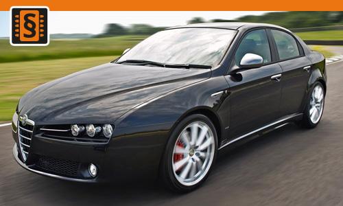 Chiptuning Alfa Romeo 159 2.2 JTS 136kw (185hp)