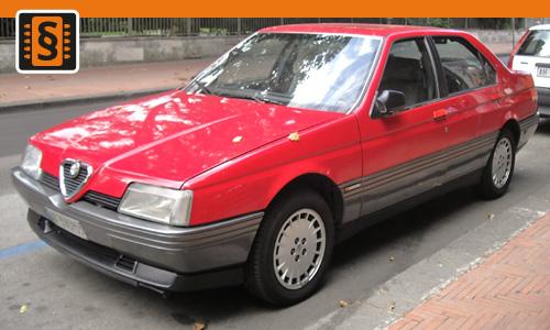 Chiptuning Alfa Romeo 164 2.5 TD 92kw (125hp)