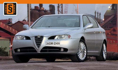 Chiptuning Alfa Romeo 166 2.4 JTD 110kw (150hp)