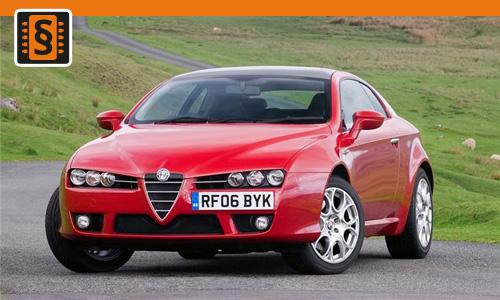 Chiptuning Alfa Romeo Brera 2.4 JTDM 147kw (200hp)