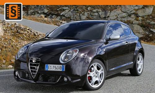Chiptuning Alfa Romeo Mito 1.4  58kw (79hp)
