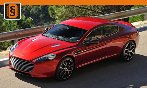 Chiptuning Aston Martin Rapide 6.0 V12 351kw (477hp)