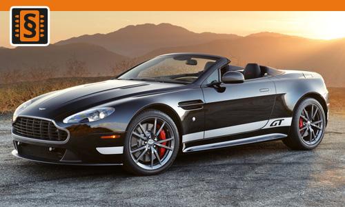 Chiptuning Aston Martin Vantage 4.3 V8 282kw (384hp)