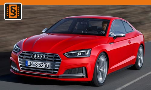 Chiptuning Audi A5 2.0 TFSI 185kw (252hp)