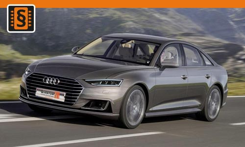Chiptuning Audi A6 45 TDI (3.0) 170kw (231hp)