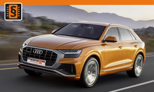 Chiptuning Audi Q8 45 TDI (3.0) 170kw (231hp)