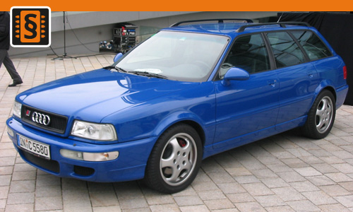 Chiptuning Audi 80 2.8E  128kw (174hp)