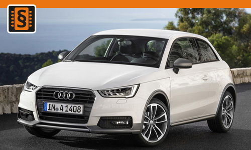 Chiptuning Audi A1 1.4 TSI 118kw (160hp)