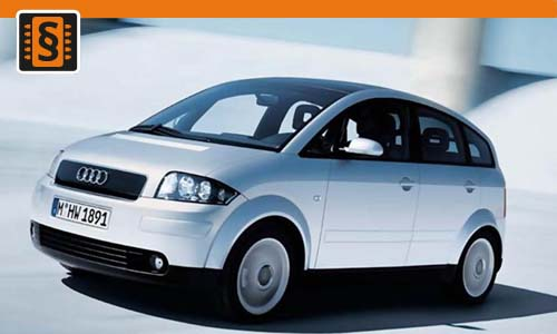 Chiptuning Audi A2 1.4 TDI 66kw (90hp)