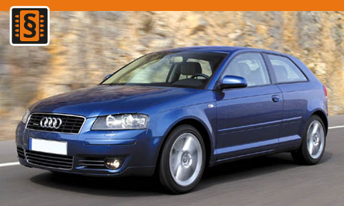 Chiptuning Audi A3 2.0 TDI 100kw (136hp)