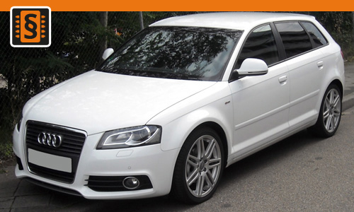 Chiptuning Audi A3 1.6 TDI 77kw (105hp)