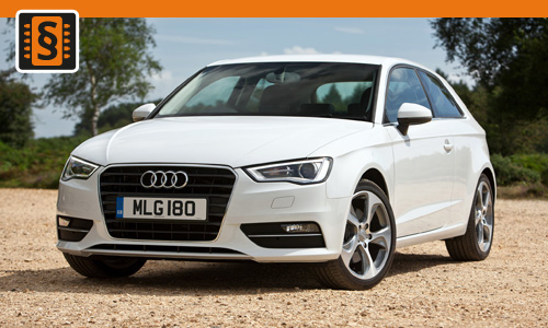 Chiptuning Audi A3 1.4 TFSI 103kw (140hp)