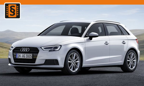 Chiptuning Audi A3 2.0 TFSI 140kw (190hp)