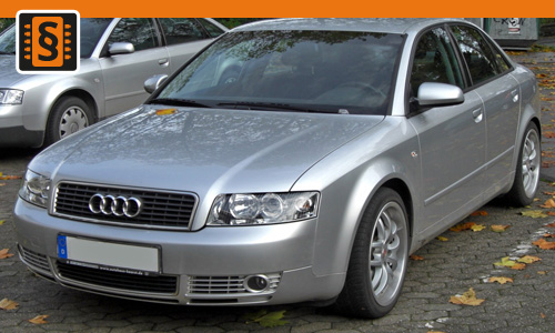 Chiptuning Audi A4 2.0  96kw (130hp)