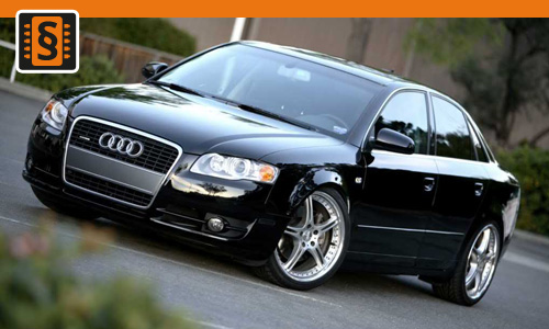 Chiptuning Audi A4 3.0 TDI 171kw (233hp)