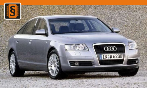 Chiptuning Audi A6 2.4  130kw (177hp)