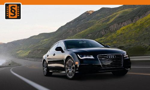 Chiptuning Audi A7 3.0 TDI 235kw (320hp)