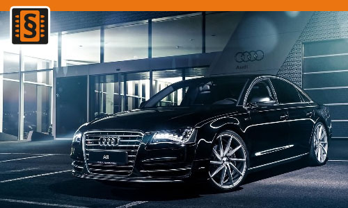 Chiptuning Audi A8 4.0 TFSI 320kw (435hp)