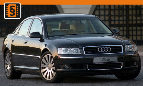 Chiptuning Audi A8 4.0 TDI 202kw (275hp)