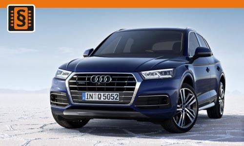 Chiptuning Audi Q5 3.0 TDI 150kw (204hp)