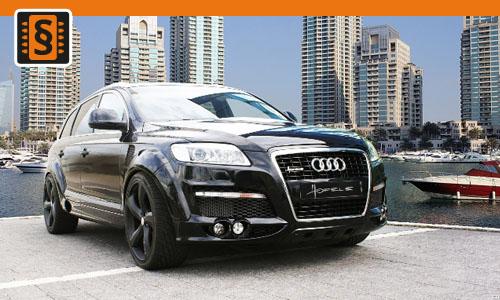 Chiptuning Audi Q7 3.0 TDI 150kw (204hp)