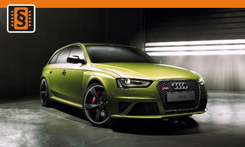 Chiptuning Audi RS4 4.2 V8 331kw (450hp)