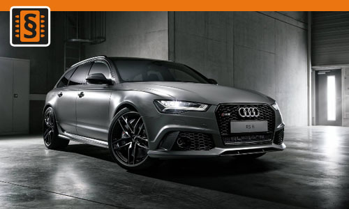 Chiptuning Audi RS6 4.0 TFSI 412kw (560hp)