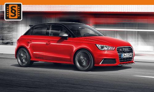 Chiptuning Audi S1 2.0 TFSI 169kw (230hp)