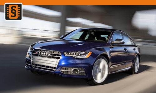 Chiptuning Audi S6 4.2  265kw (360hp)