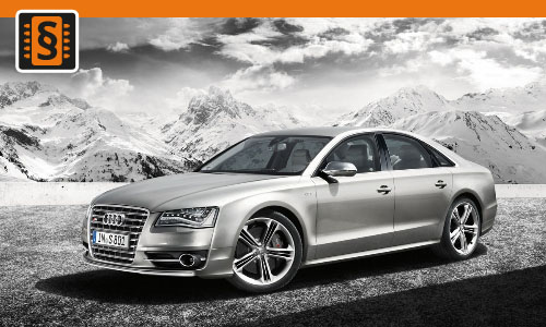 Chiptuning Audi S8 5.2  331kw (450hp)