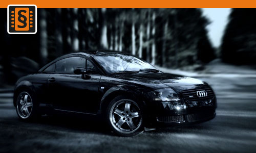 Chiptuning Audi TT 1.8T  165kw (225hp)