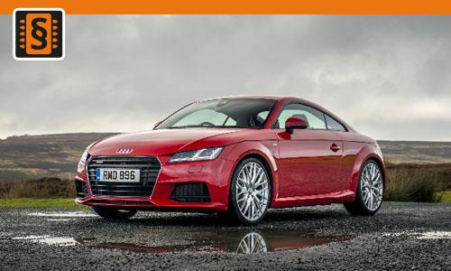 Chiptuning Audi TT 2.0 TFSI 169kw (230hp)