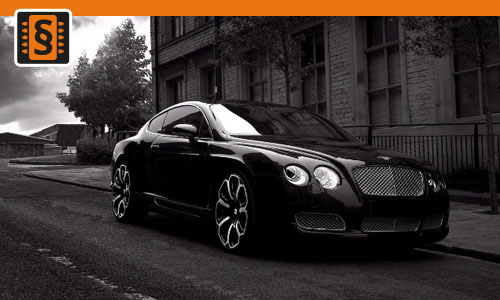 Chiptuning Bentley Continental GT 4.0 TFSI V8 373kw (507hp)
