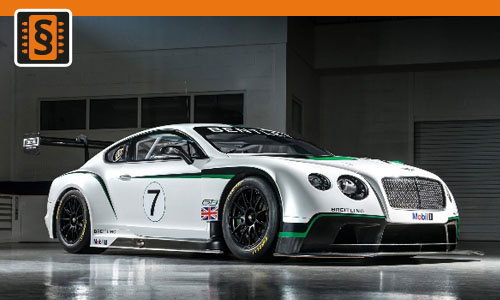Chiptuning Bentley Continental GT3-R 4.0 V8 426kw (580hp)